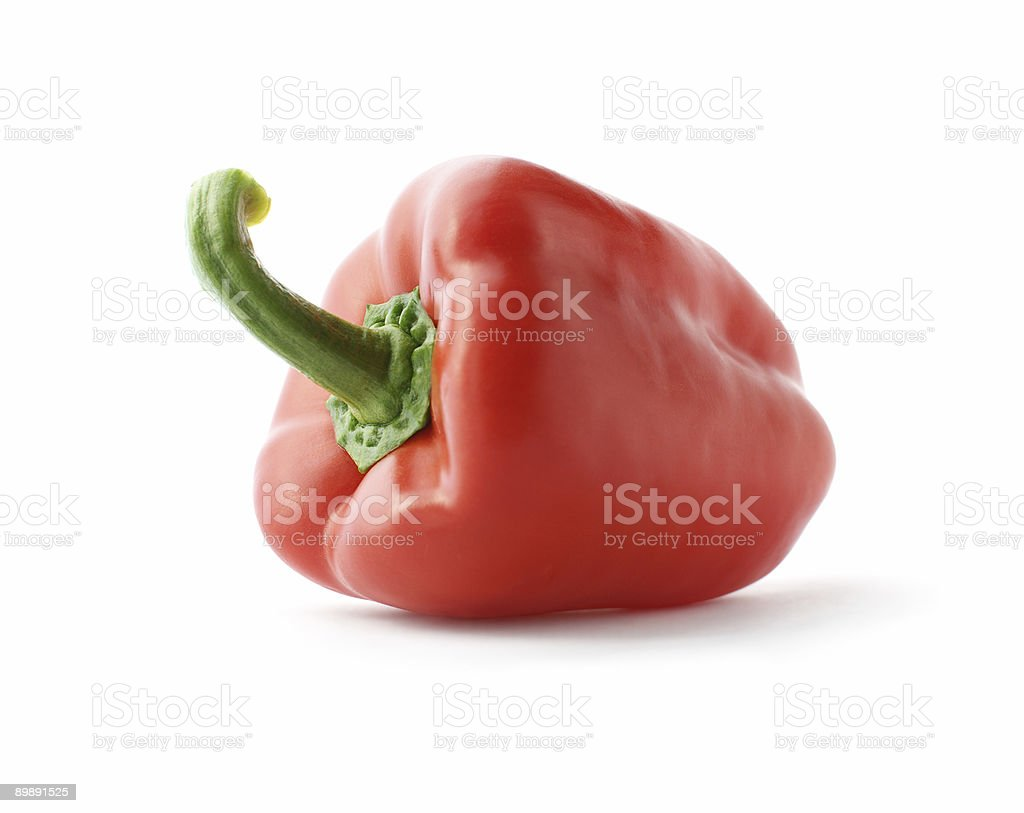 Fresh red paprica stock photo