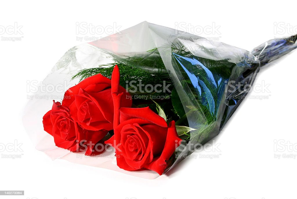 fresh red roses stock photo