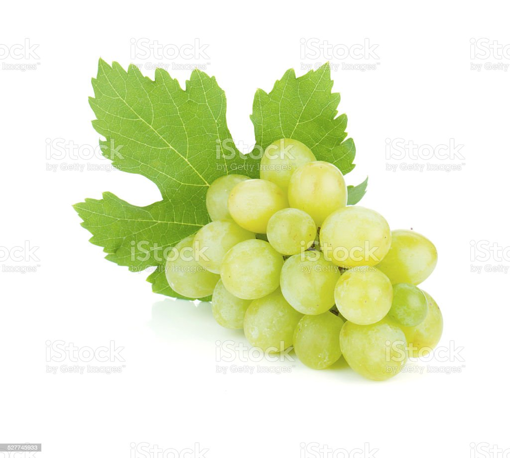 Fresh ripe grapes stock photo