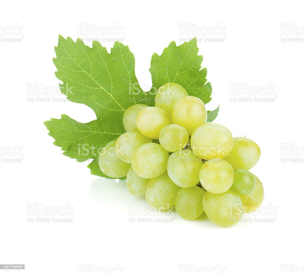 Fresh ripe grapes stock photo