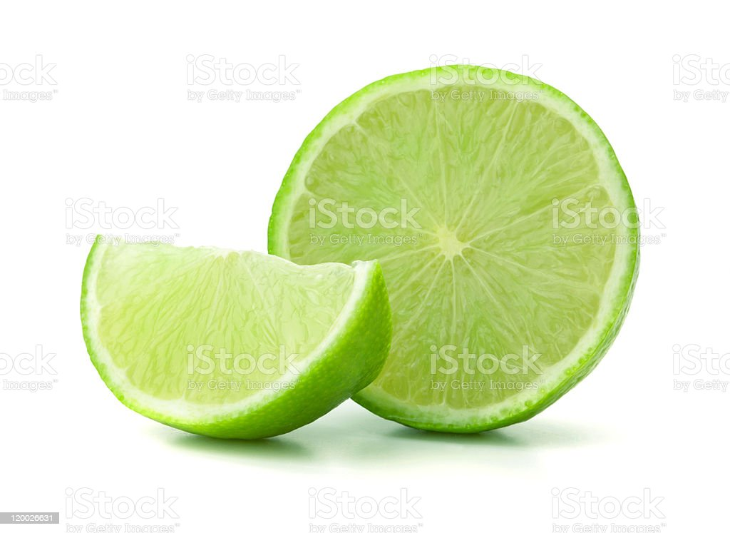 Fresh ripe lime royalty-free stock photo