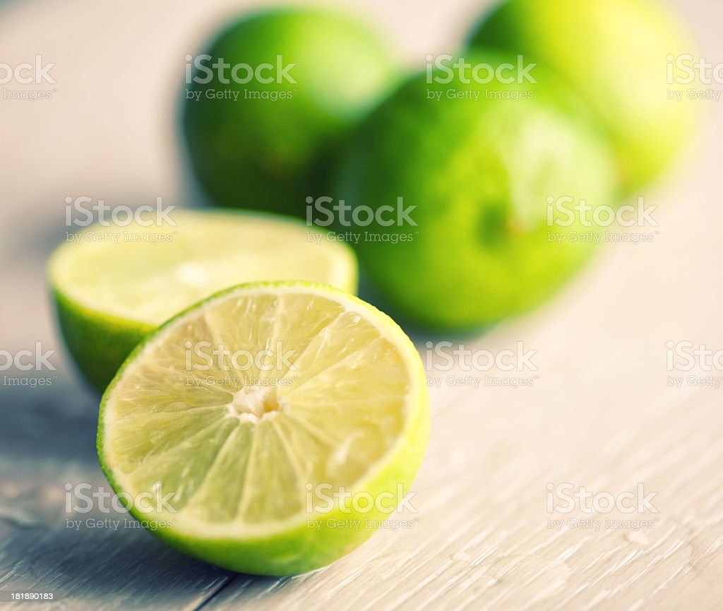 Fresh ripe lime royalty-free stock photo