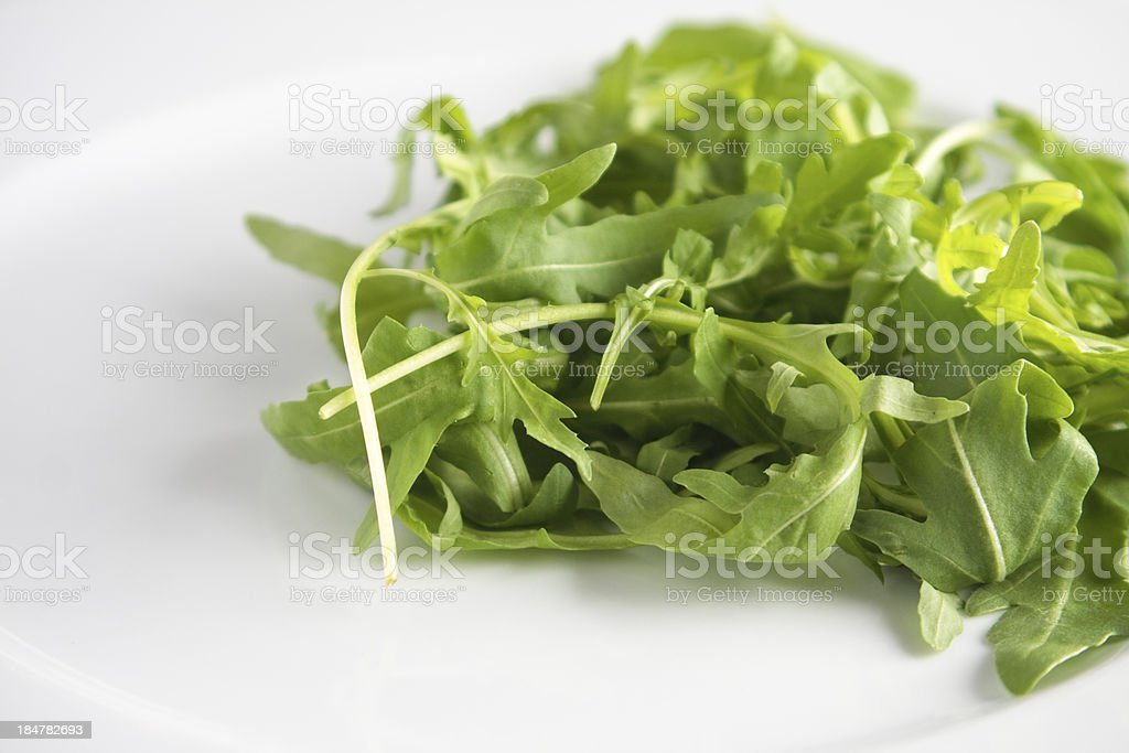 Fresh rocket royalty-free stock photo