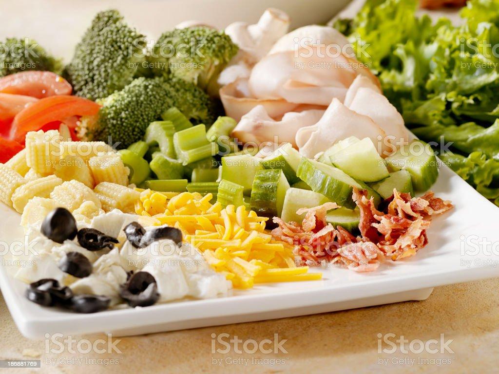 Fresh Salad Ingredients royalty-free stock photo