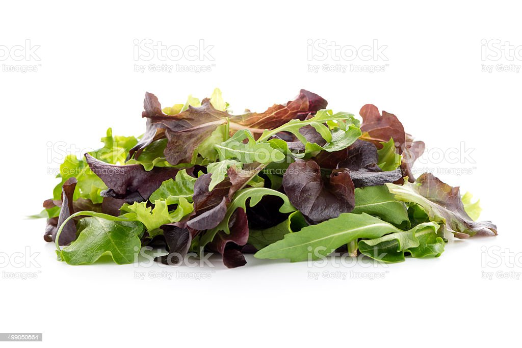 Fresh salad mix stock photo