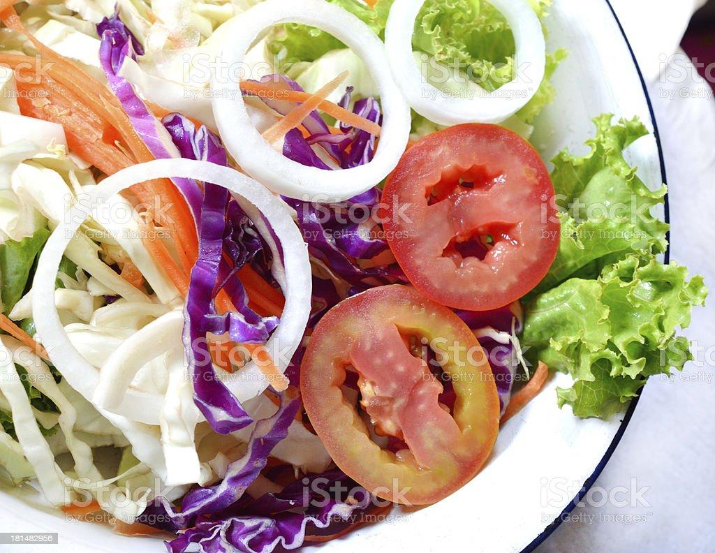 Fresh Salad royalty-free stock photo
