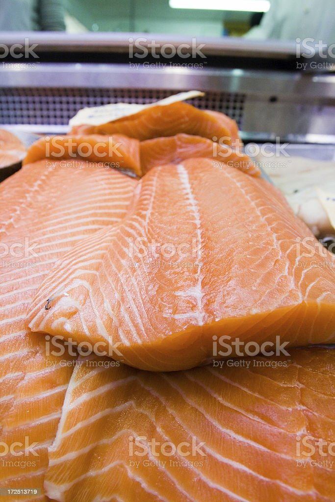 Fresh Salmon Fillet royalty-free stock photo