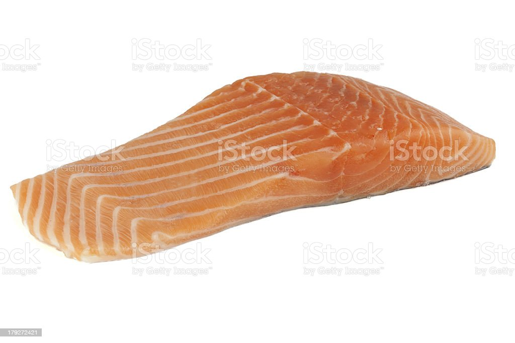 frischer Lachs royalty-free stock photo