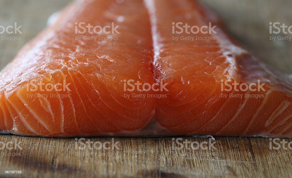 Fresh salmon. stock photo