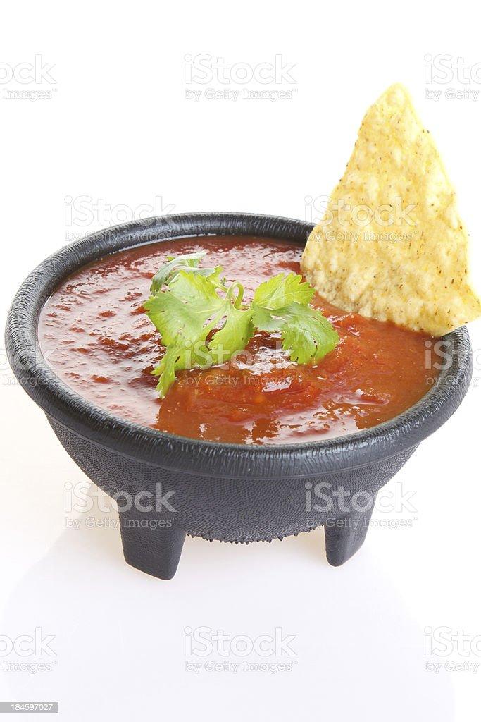 Fresh salsa royalty-free stock photo