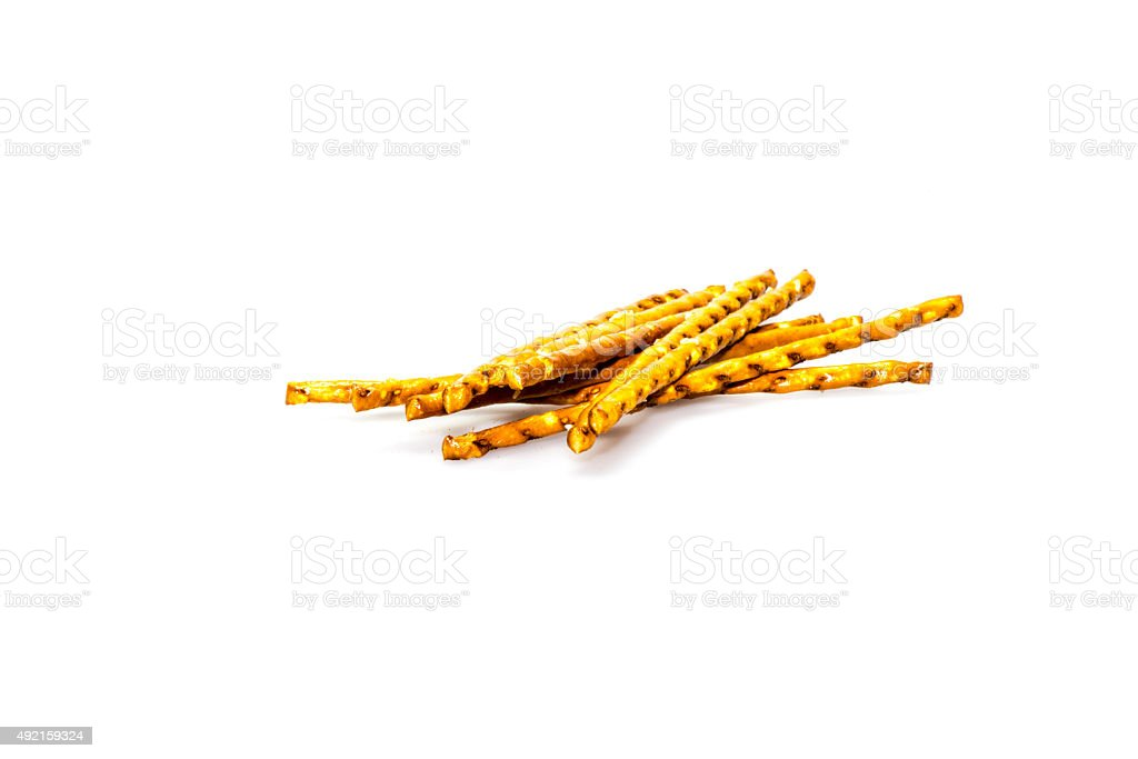 Fresh saltsticks stock photo