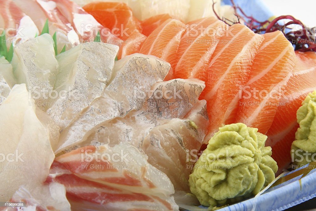 Fresh sashimi royalty-free stock photo