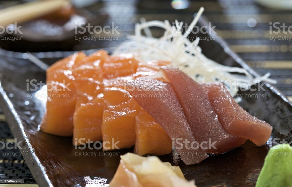 Fresh sashimi royalty-free stock photo