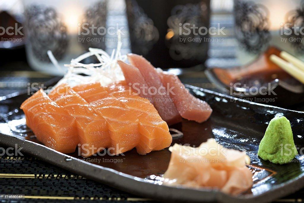 Fresh sashimi stock photo