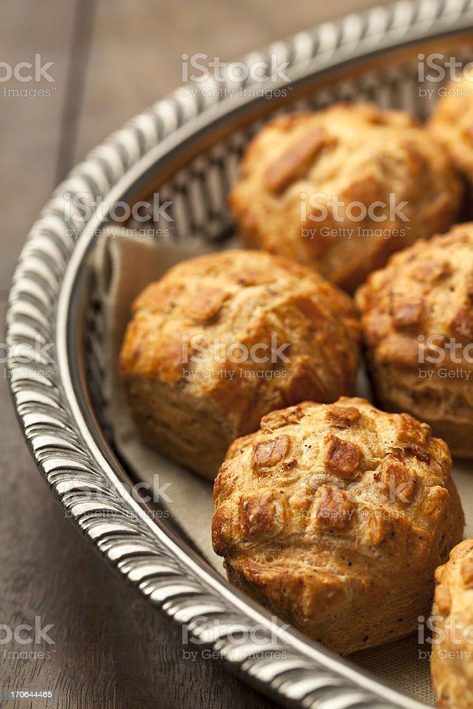 Fresh scones royalty-free stock photo