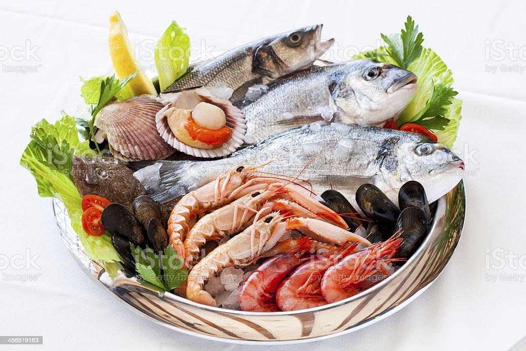 Des fruits de mer frais. photo libre de droits