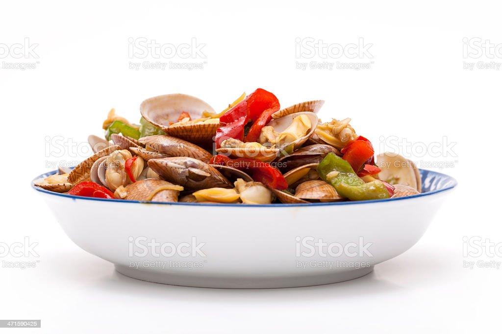 Fresh seafood royalty-free stock photo
