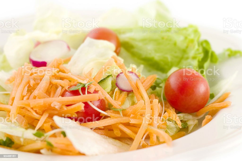 Fresh Side Salad stock photo