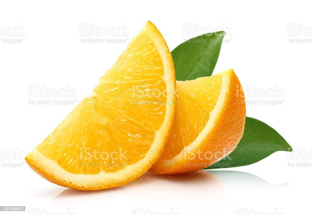Fresh Slice Orange stock photo
