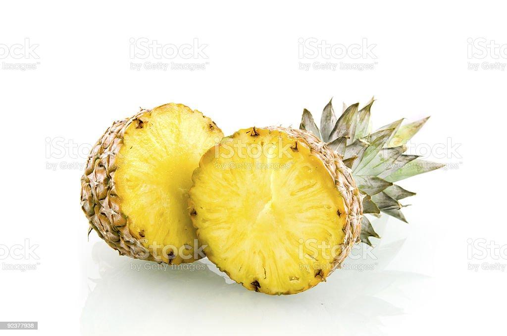 Tranche d'ananas frais photo libre de droits