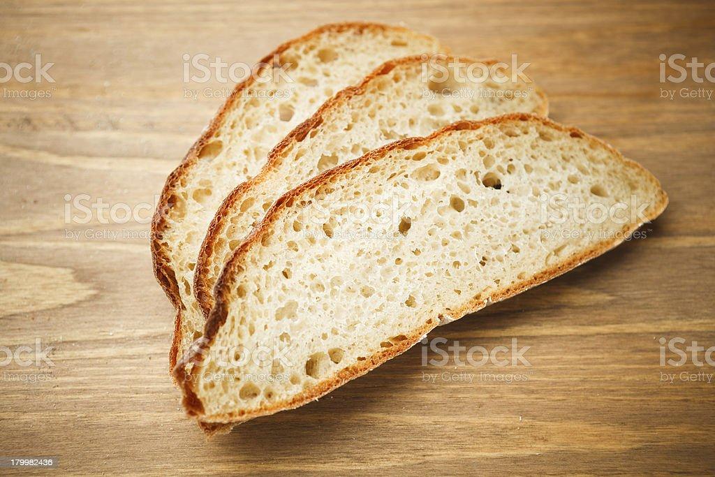 fresh sliced bread royalty-free stock photo