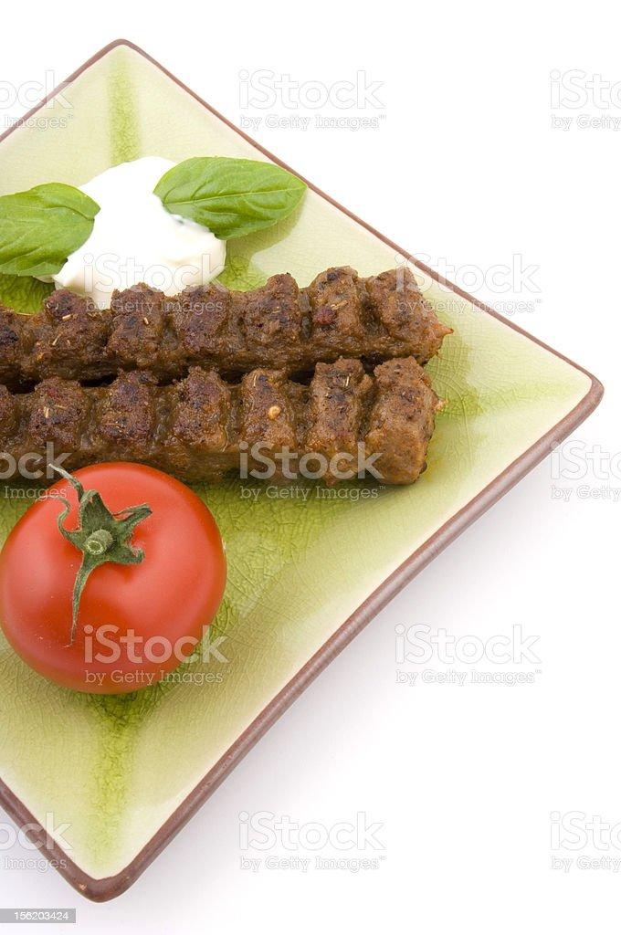 fresh small italian meal royalty-free stock photo