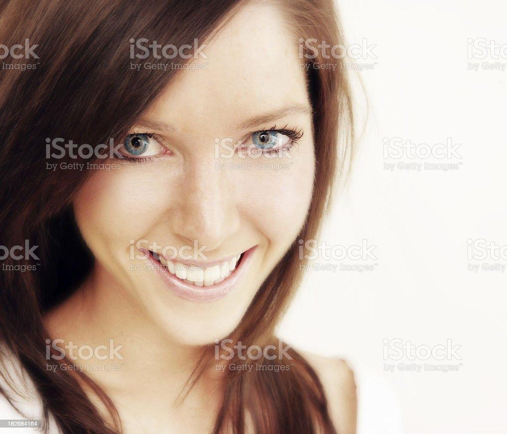 Fresh Smile royalty-free stock photo