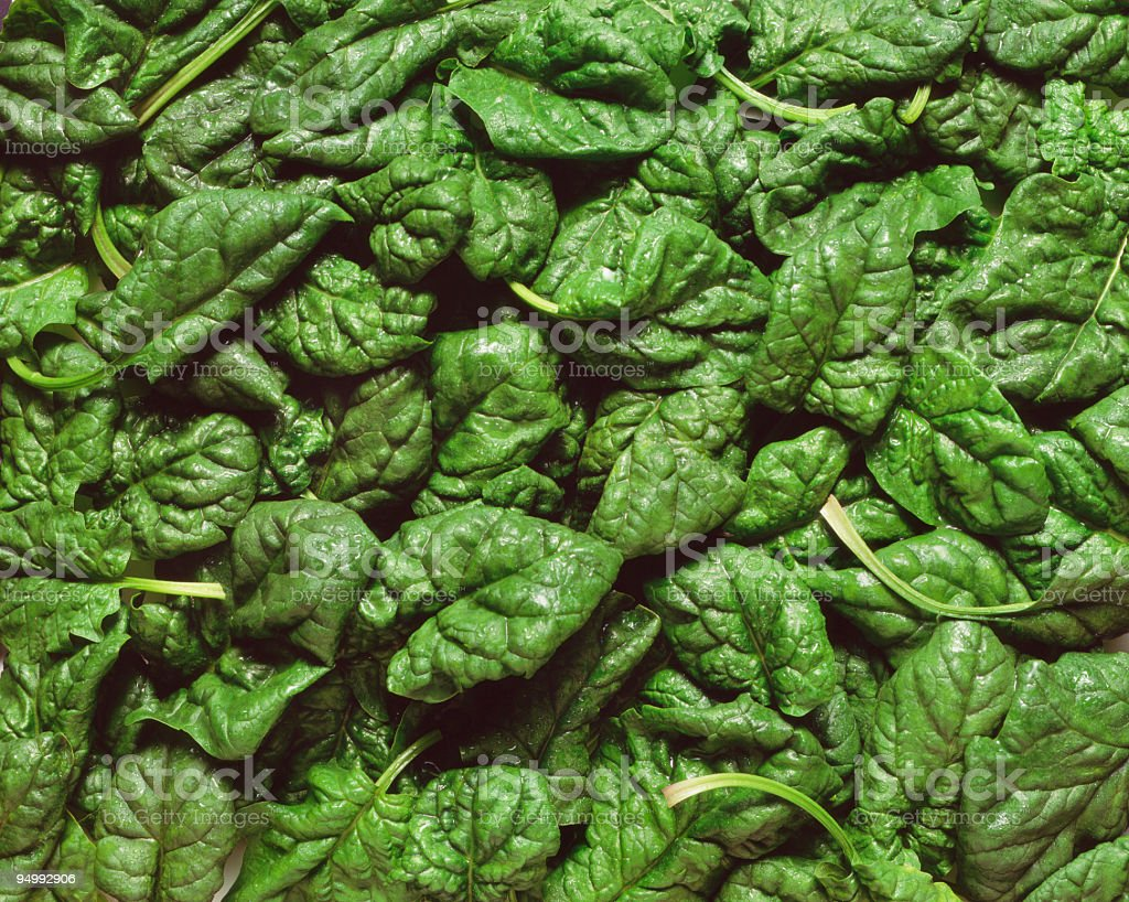 Fresh spinach background royalty-free stock photo