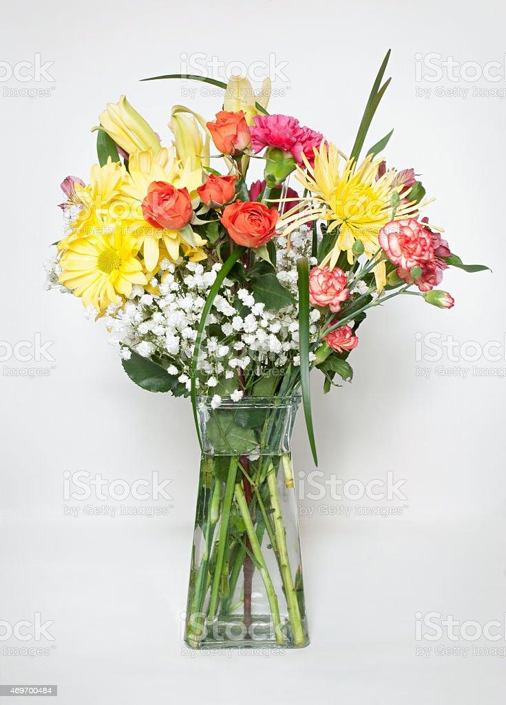 Fresh Spring Bouquet stock photo