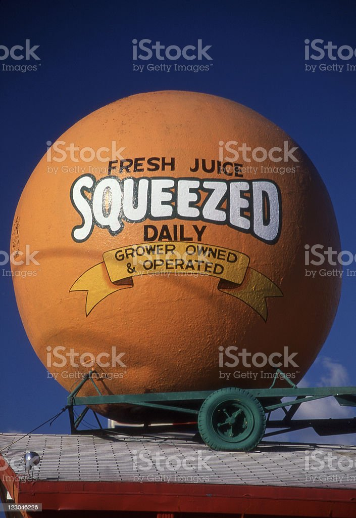 Fresh Squeezed Juice stock photo