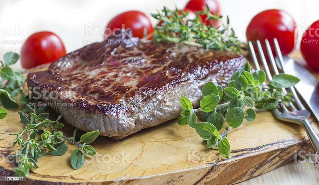 fresh steak royalty-free stock photo