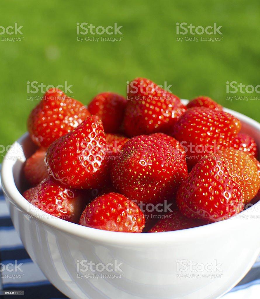 Frische Erdbeeren Lizenzfreies stock-foto
