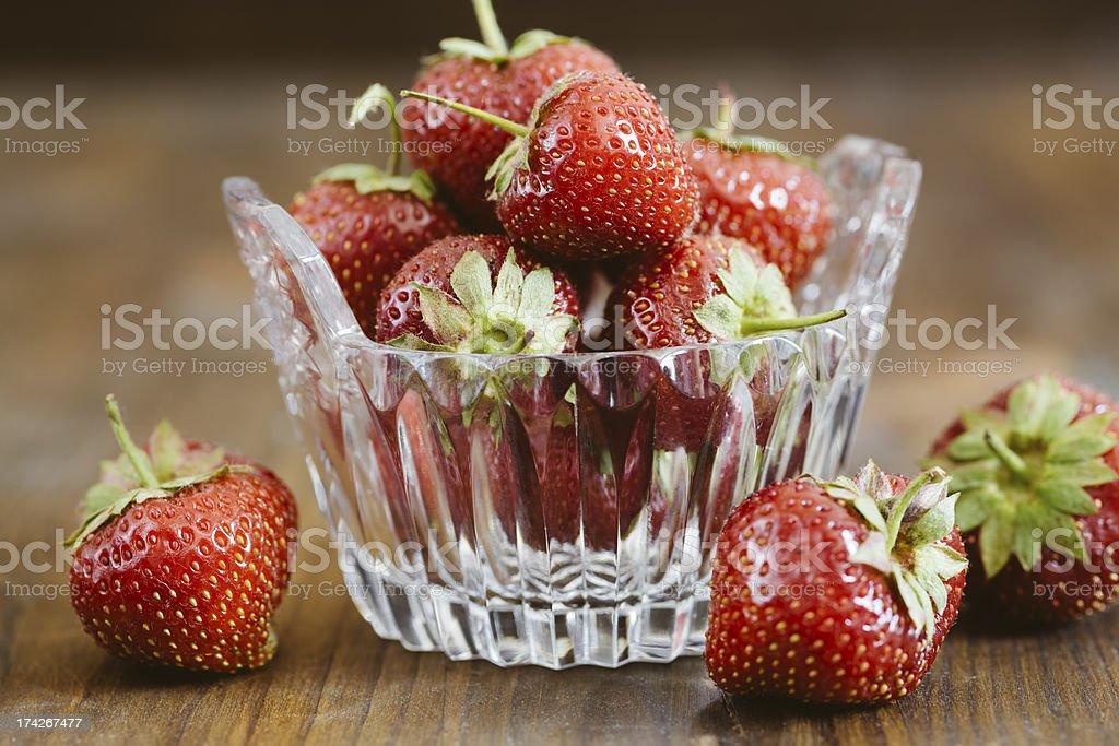 Fresh strawberry royalty-free stock photo