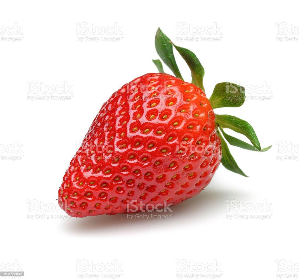 Fresh strawberry stock photo
