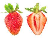 Fresh strawberry slice