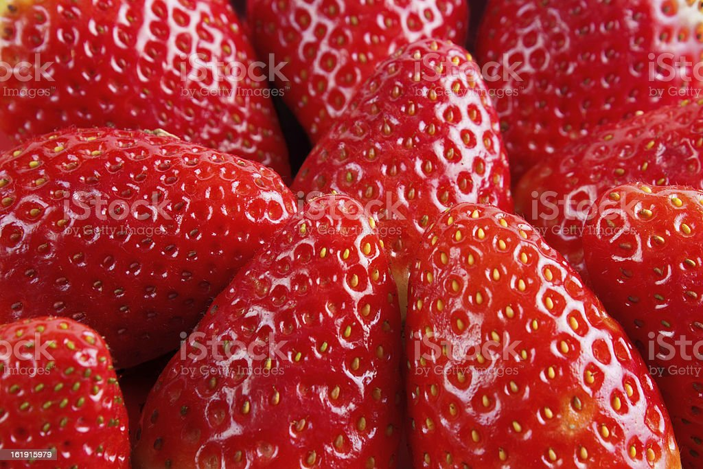 Fresh strawbrries royalty-free stock photo