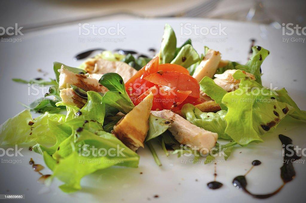 Fresh summer salad royalty-free stock photo