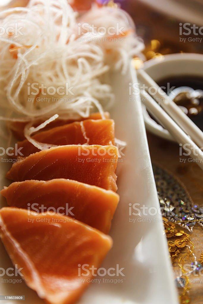 Fresh sushi food royalty-free stock photo