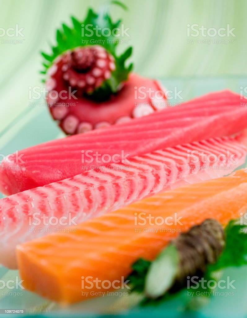 Fresh Sushi Ingredients royalty-free stock photo