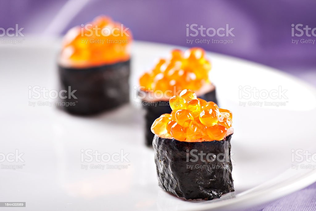 Fresh Sushi stock photo