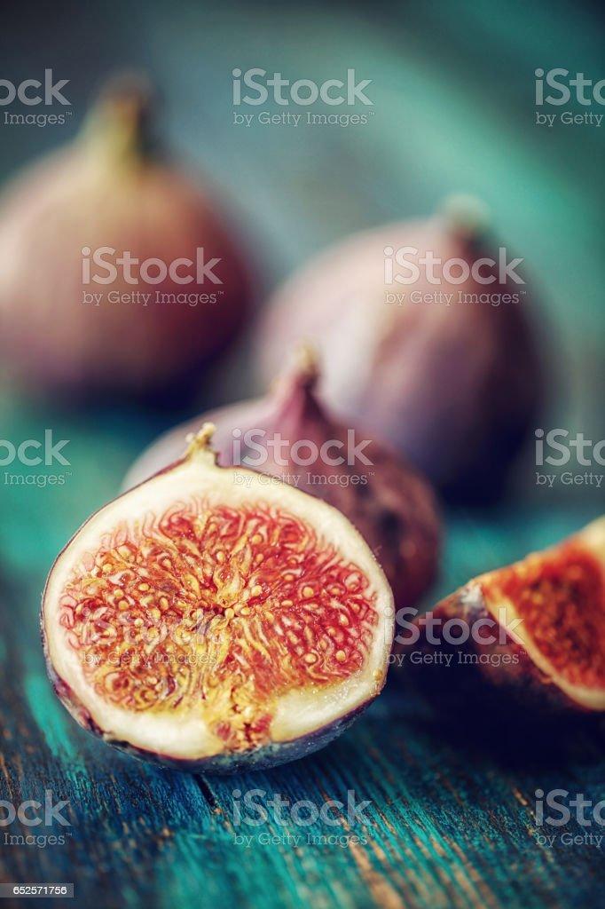 Fresh Sweet Figs stock photo