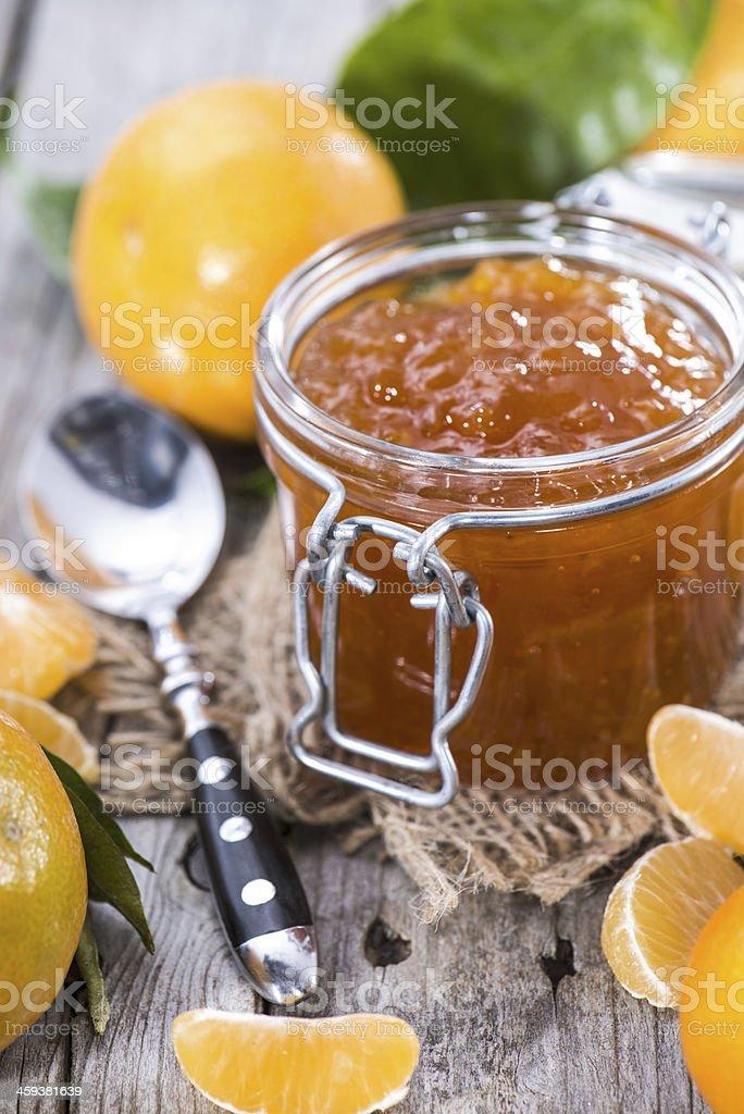 Fresh Tangerine Jam royalty-free stock photo
