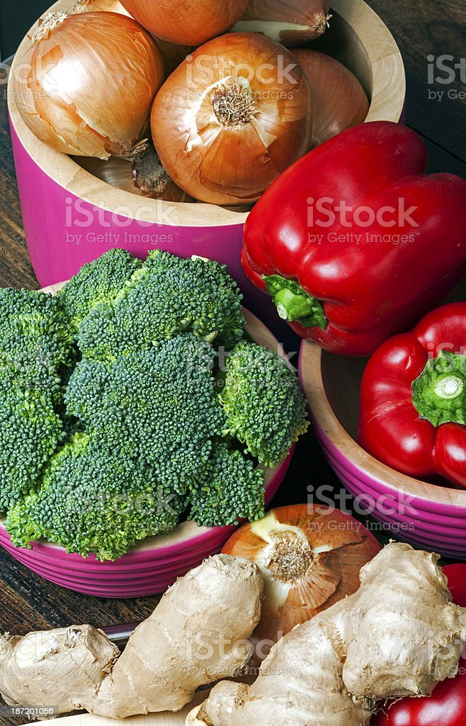 Fresh Tasty Vegetables royalty-free stock photo