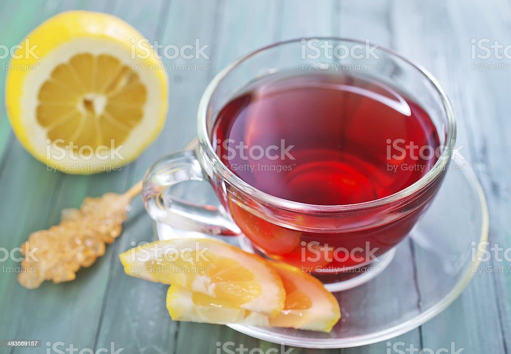 fresh tea royalty-free stock photo