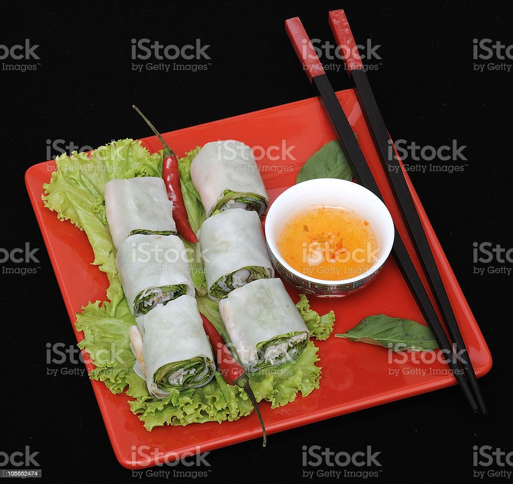 Fresh thai food stock photo
