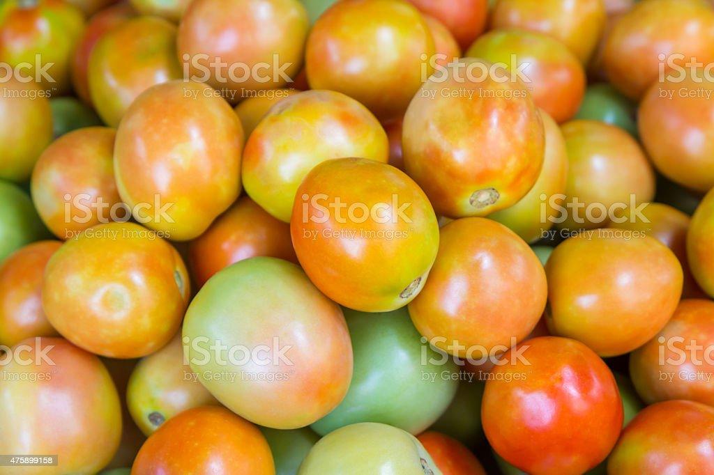 Fresh tomato for sale at market,Thailand royalty-free stock photo
