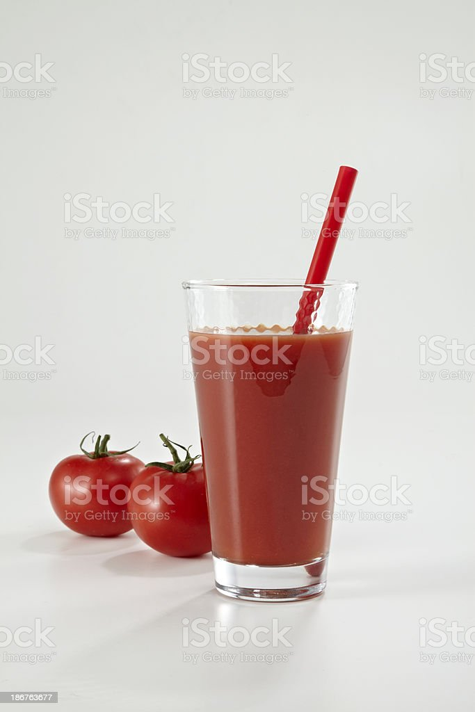 Fresh Tomato Juice royalty-free stock photo
