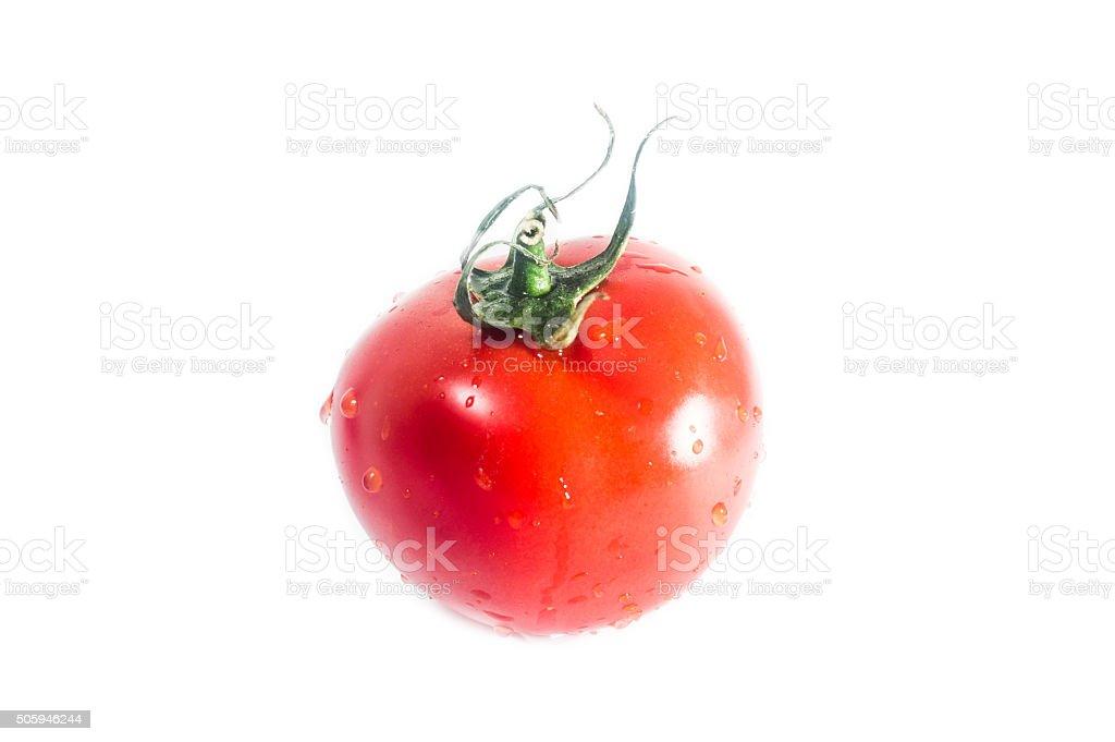 Fresh tomato stock photo