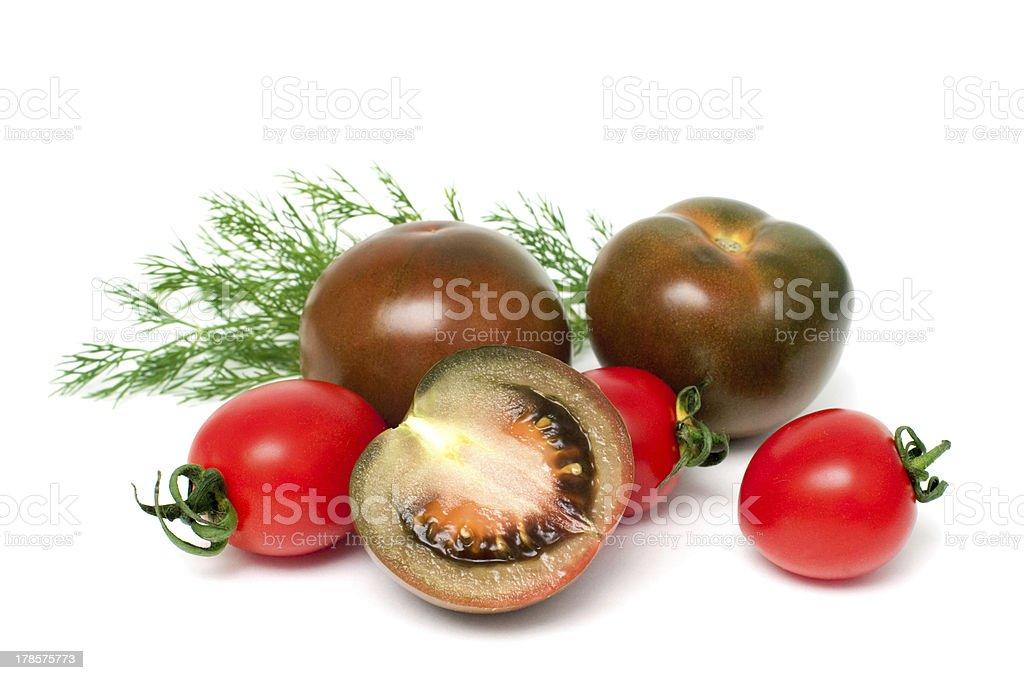 Tomates fraîches photo libre de droits
