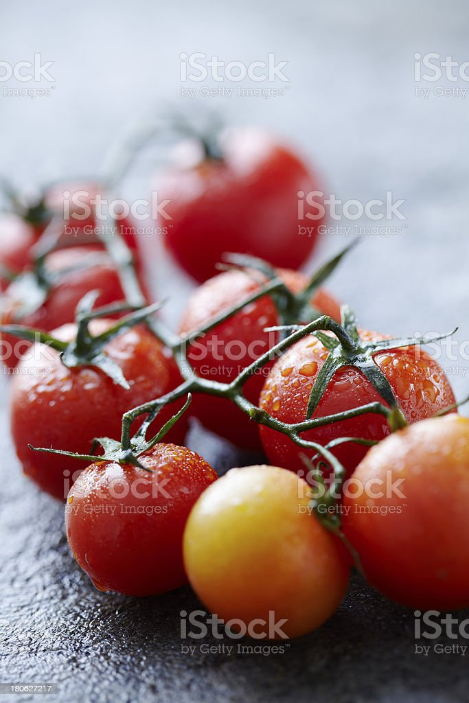 fresh tomatoes royalty-free stock photo